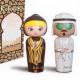 Arabian KOKESHI: Amber y Oud