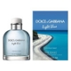 Light Blue Sunset in Salina y Light Blue Pour Homme Swimming in Lipari de Dolce & Gabbana